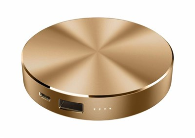 BASS 6000 mAh Gold Powerbank BASS-2196-GOLD