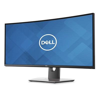 "DELL 34.1""IPS 3440x1440 8ms 60Hz HDMI,DP,USB Kavisli Siyah Monitor U3419W"