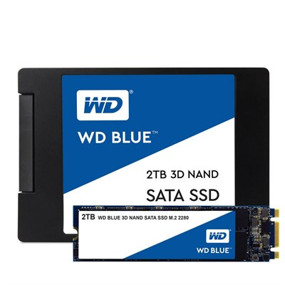 WD 2TB WD Blue Sata3 560/530 Flash SSD WDS200T2B0B